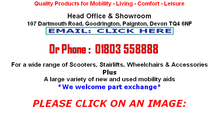 Email: enquiries@torbaymobility.co.uk
